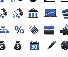 Business Icons 13 vector graphics