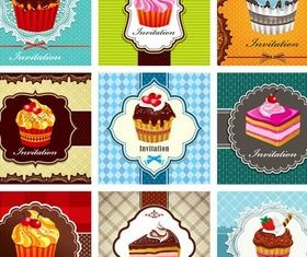 Shiny Sweets Backgrounds 5 vector