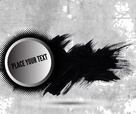 Grungy Banner Background design vector