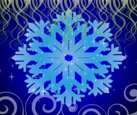 Winter Decorations design vector