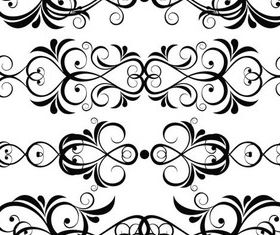 Ornate Floral Elements (Set 20) vector design