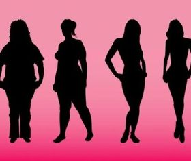 Body Types vector