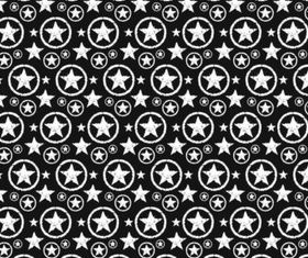 Star Pattern Graphics vector