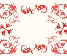 Swirly Frame vector