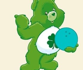 Care Bear vector material