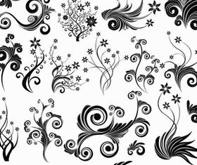 Ornate Floral Elements (Set 19) vector set