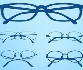 Glasses Frames vectors material