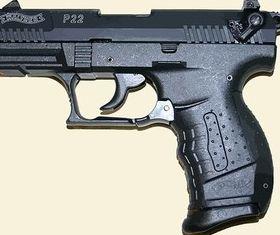 Walther P22 Gun design vectors