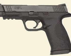 Smith and Wesson Police Gun vector