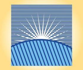 Sunrise Graphics vector set