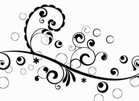 Floral Design 4 Illustration vector
