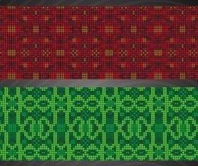 Mosaic Patterns design vector