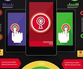 Mobile Templates art vectors