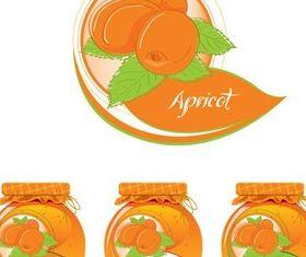 Fruit Jam free vectors material