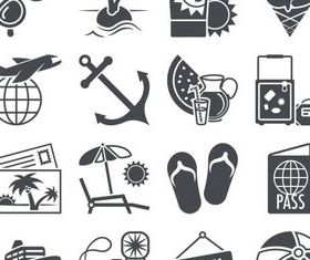 Travel Icons 2 vectors