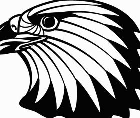Free Image Eagle Head Clip Art vectors graphic
