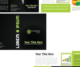 Creative Cards vector graphics
