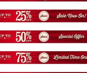 Sale Bright Labels free vector