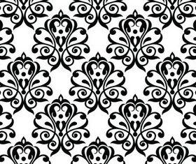 Stylish Damask Patterns 8 vector graphics