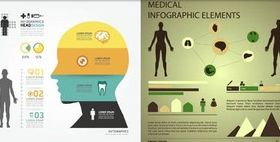Medical Backgrounds 8 vector