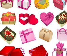 Gift Boxes free vector