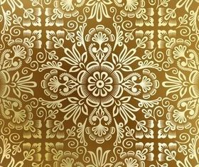 Golden Backgrounds 6 vector