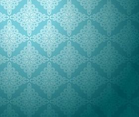 Stylish Damask Patterns 7 vector graphics