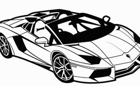 Sports Car free design vectors