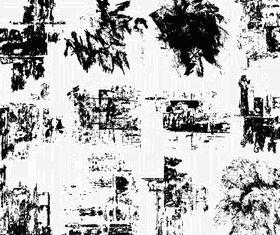 Grunge Texture Vector Set 1