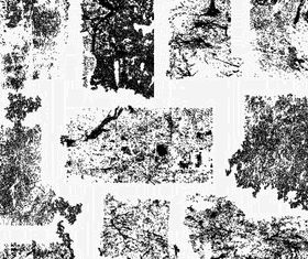 Grunge Texture Illustrator Set 1