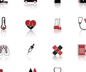 Medical Various Icons vector