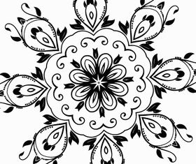 Ornate Design Elements vector graphic