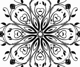 Flourish Ornament Design creative vector
