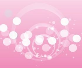 Abstract Circles Background vectors graphic