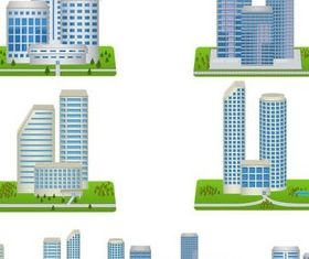 Skyscrapers free vector