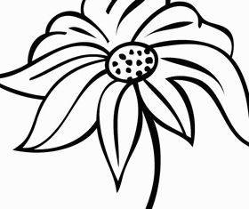 Flower Design Art vector
