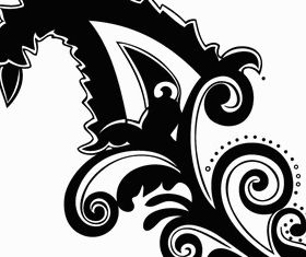 Paisley Floral Design Image vector