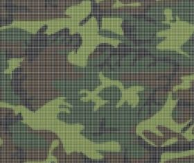Camouflage Grid vector