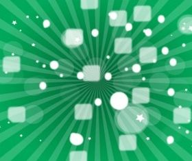 Green Star Burst vectors