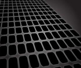 Receding Grid vector material