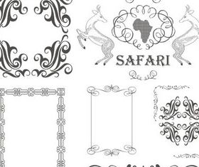 Vintage Design Elements 15 Illustration vector
