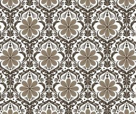Stylish Damask Patterns 5 vectors