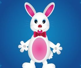 Cartoon Bunny Rabbit Free vector