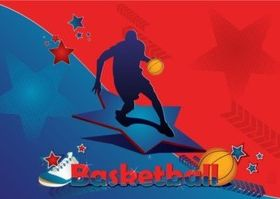Basketball Star vectors graphics