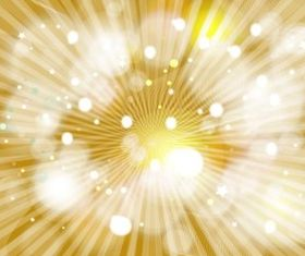 Golden Burst background design vector