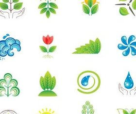 Nature Symbols vector