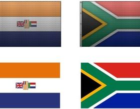 South African Flag vectors graphic