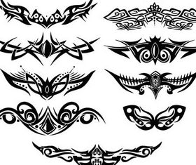 Stylish Tatoo 18 vector