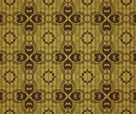 Stylish Damask Patterns 4 vectors material