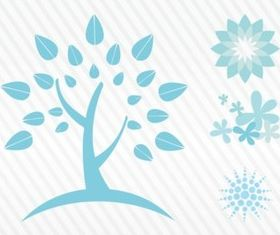 Nature Elements design vectors